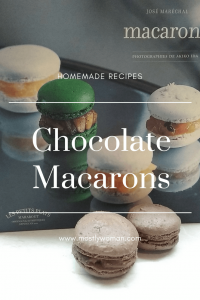 Chocolate Macaroons Recipe with Milk Chocolate Ganache