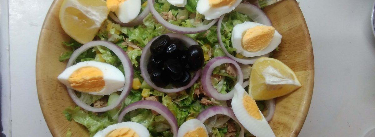 Tuna Salad Recipe. Healthy mix