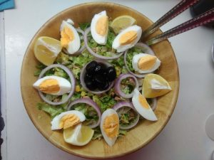 Tuna Salad Recipe. Healthy mix