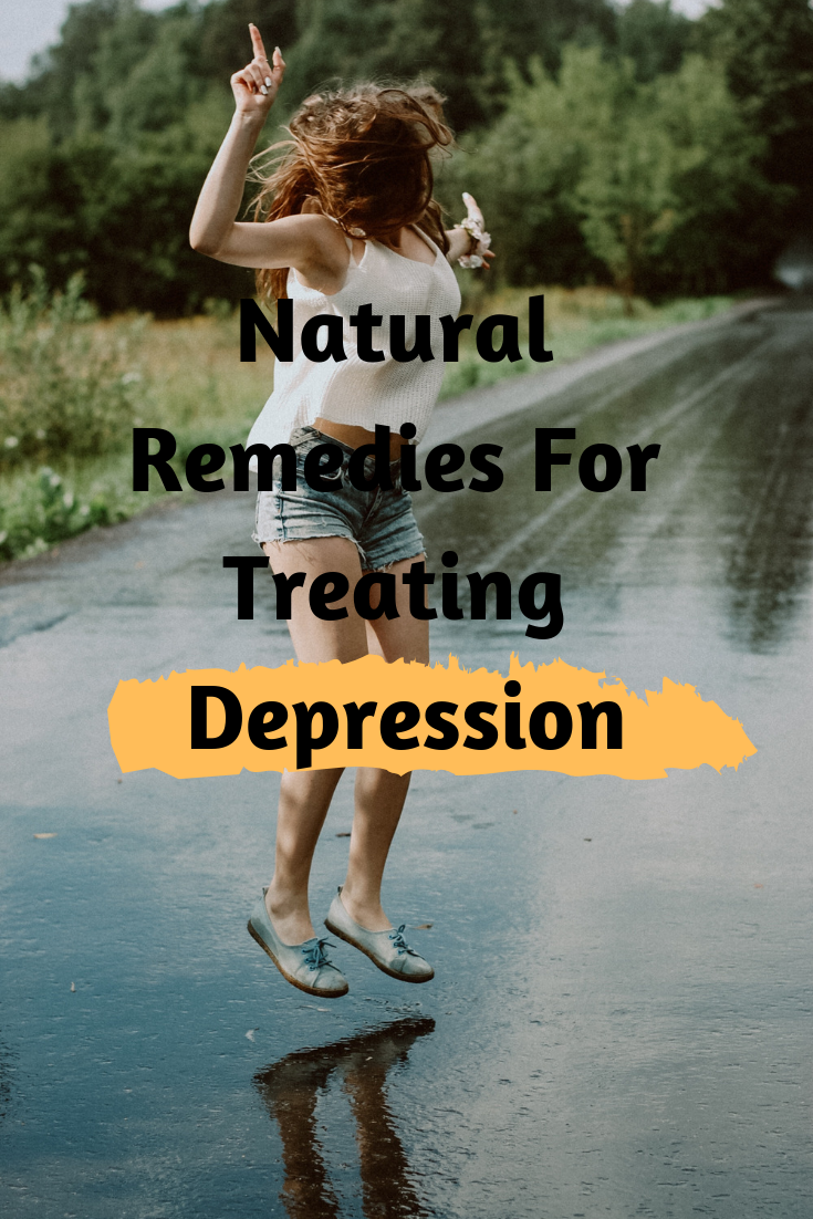 There are several ways for depression treatment along with therapy and medication. If you don't need medication or you really reached a level when you want to help yourself and get out of a rut