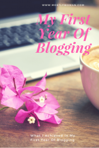 1 year of blogging. What I achieved