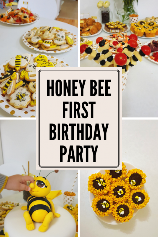 Honey Bee Birthday Party