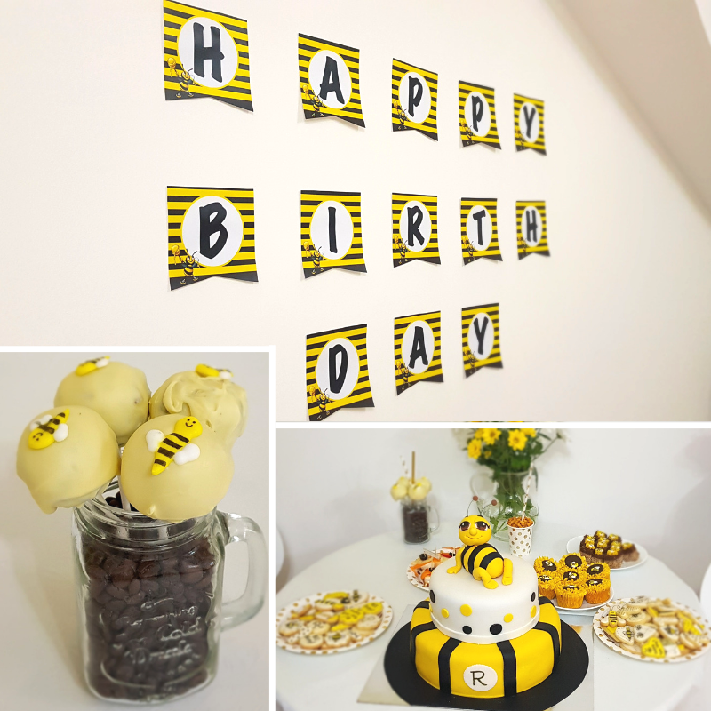 Bumble Bee party food