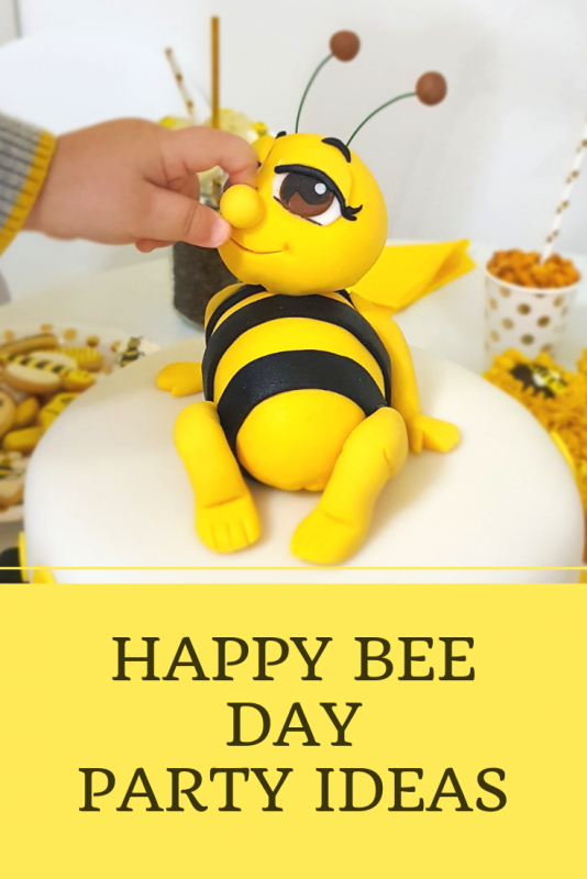 Happy Bee Day Party Ideas