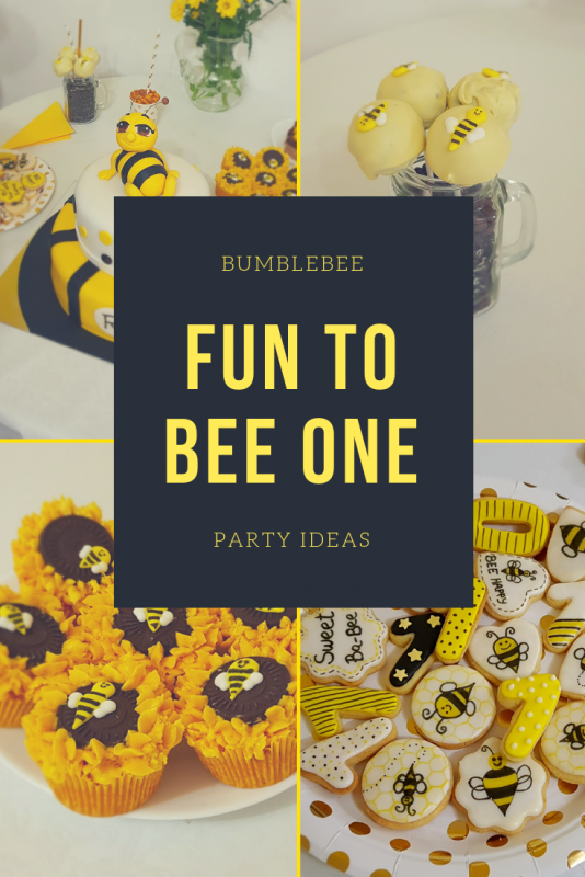 Fun To bee one party ideas