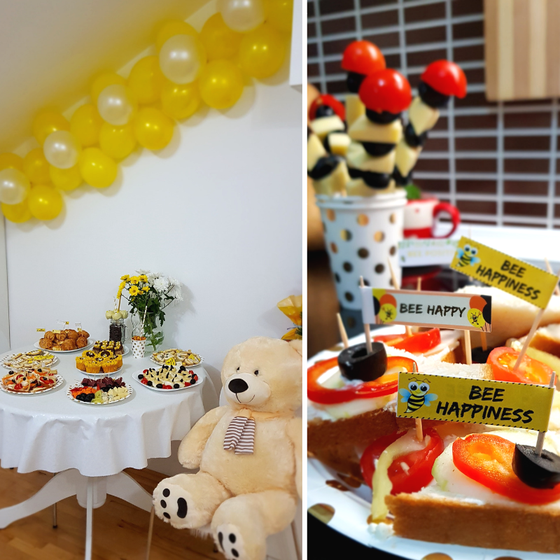 Bumble Bee Themed Party