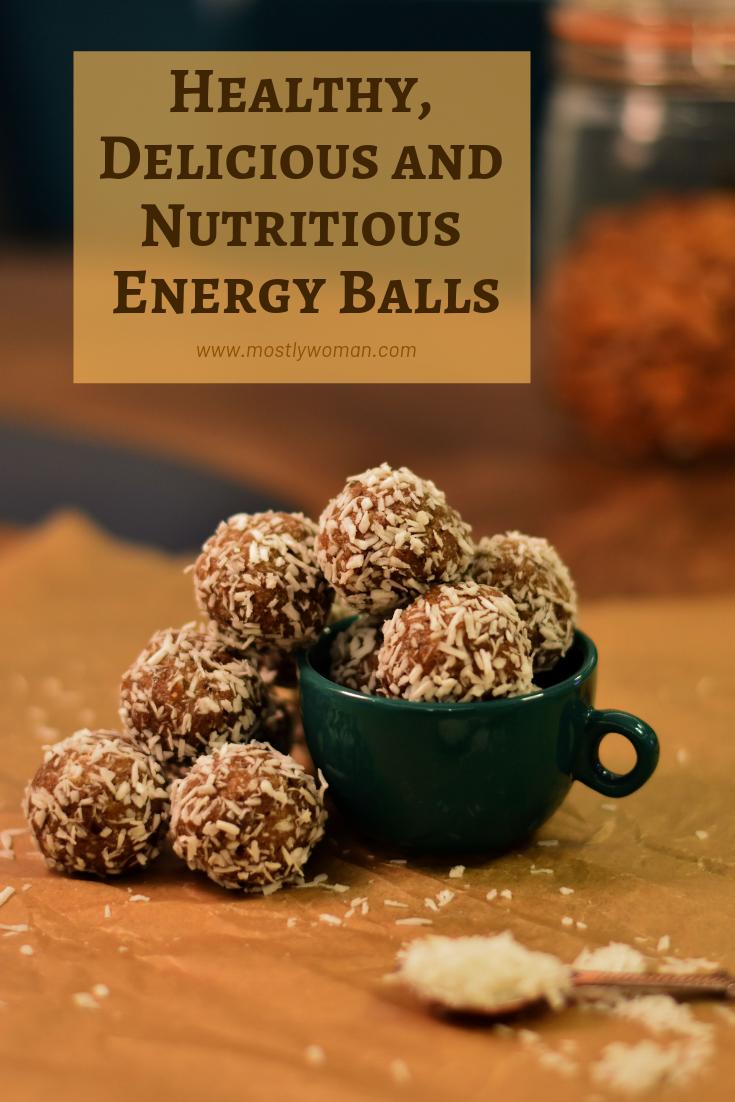 Almond Date Tahini Energy Balls