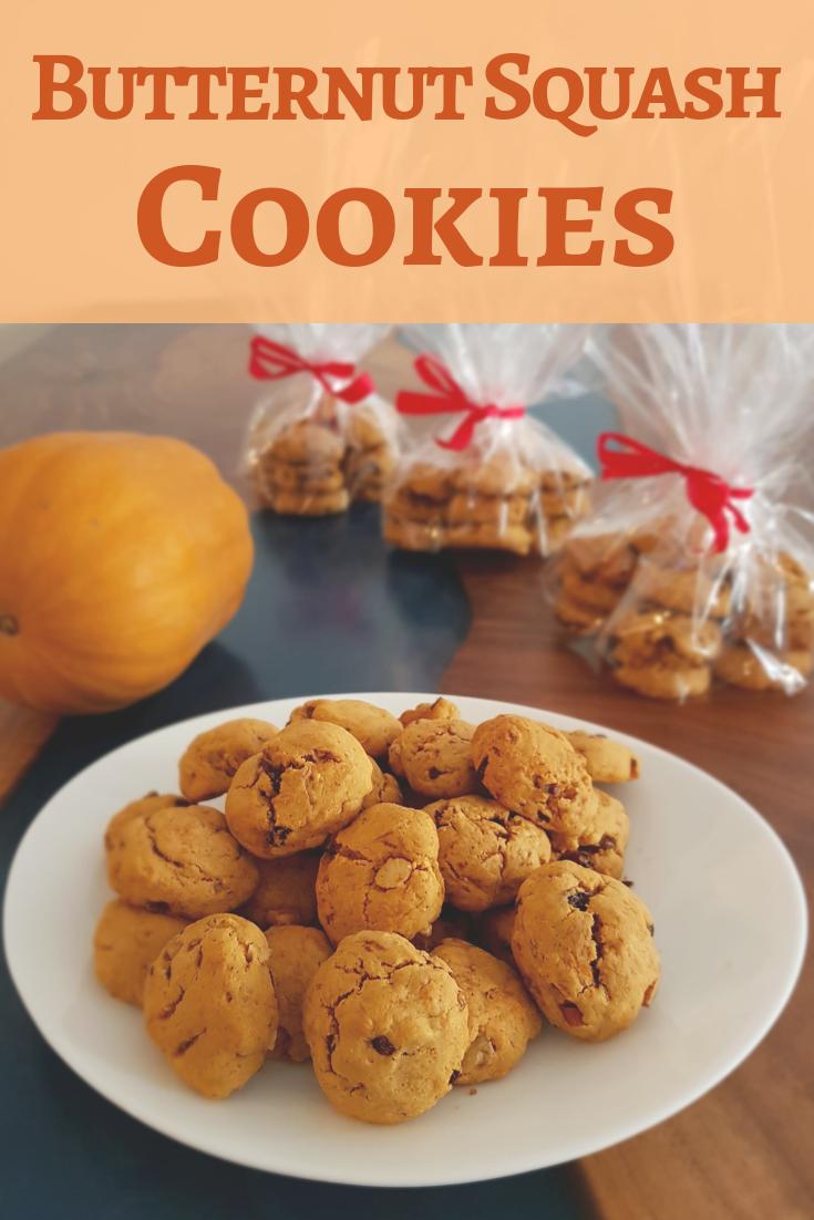 Butternut squash cookies