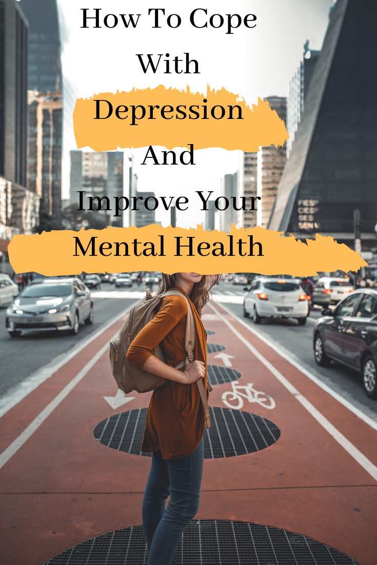 There are several ways for depression treatment along with therapy and medication. If you don't need medication or you really reached a level when you want to help yourself and get out of a rut.