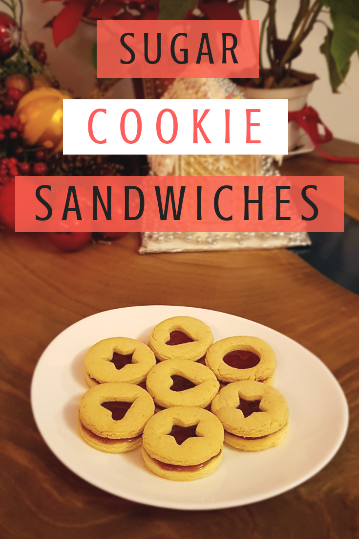 Sugar cookies sandwiches