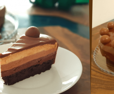 Lindt Chocolate Mousse Cake