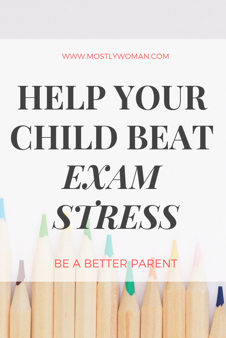 How To Help Your Child Deal With Exam Stress? Exams don't define your child as a person. Find out stress signs and symptoms and help your child deal with it.