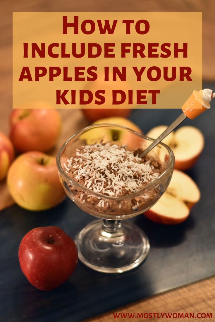 How to include fresh apples in your kids diet, Healthy apple dessert