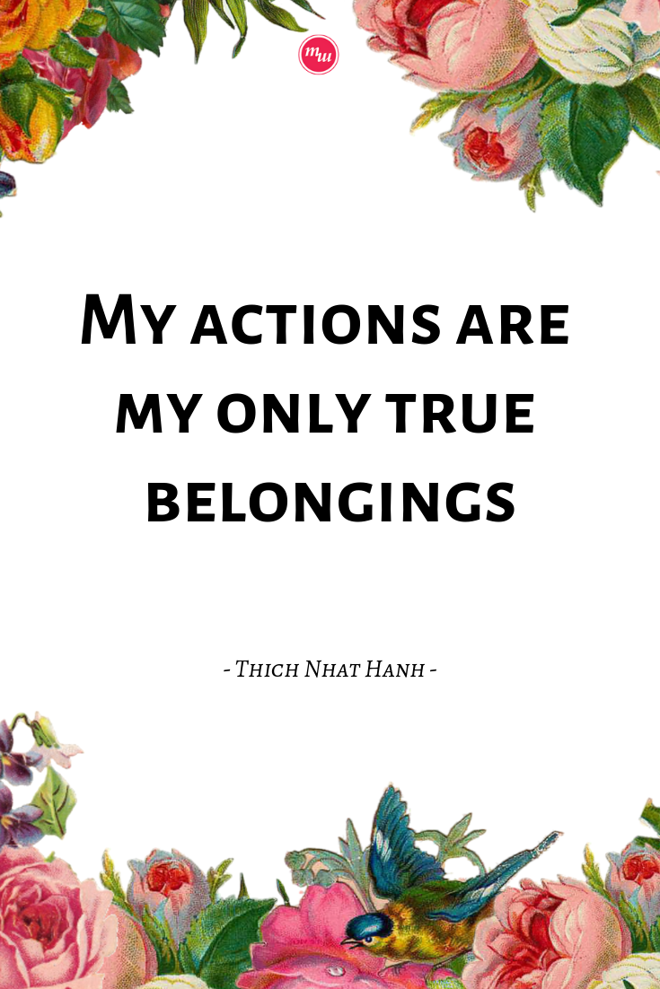 Personal Development Challenge with Thich Nhat Hanh. If you are on a personal growth journey and don't like to meditate, this is the sign from The Universe