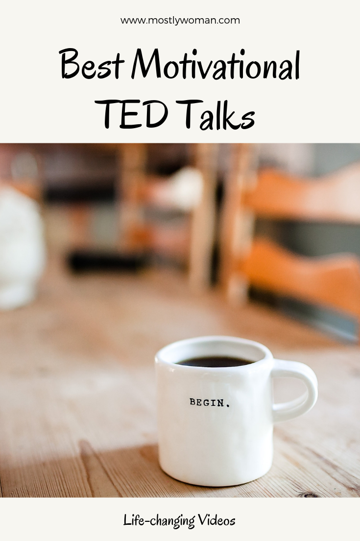 I want to share with you famous TED Talks for motivation. These videos are life-changing, motivational and very informative.