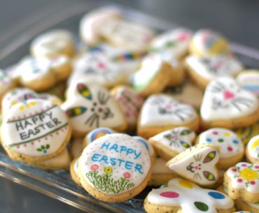 Poppy seed easter cookies