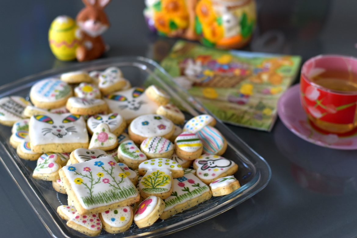 Easter Poppy Seed Cookies