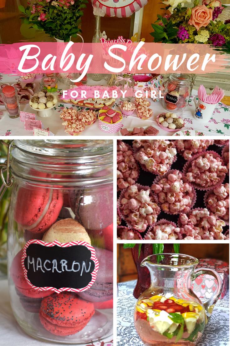 Baby shower for baby girl
