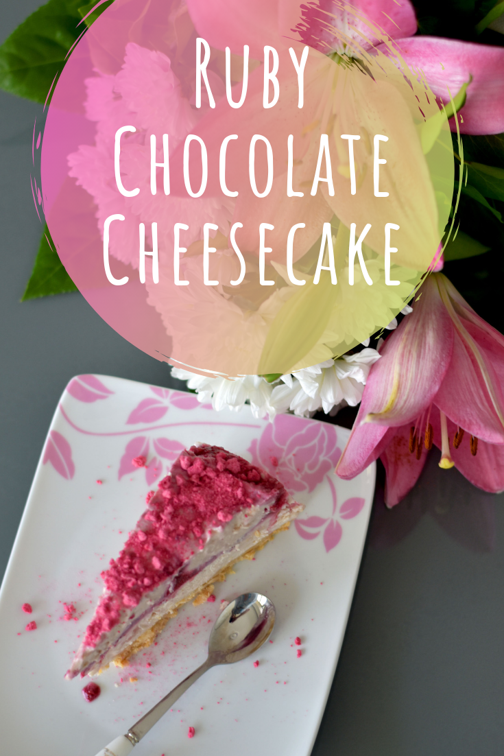 Ruby Chocolate Cheesecake