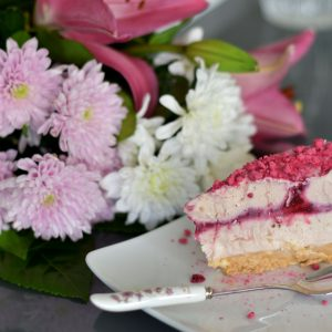 Ruby Chocolate Cheesecake|Pink Delicacy