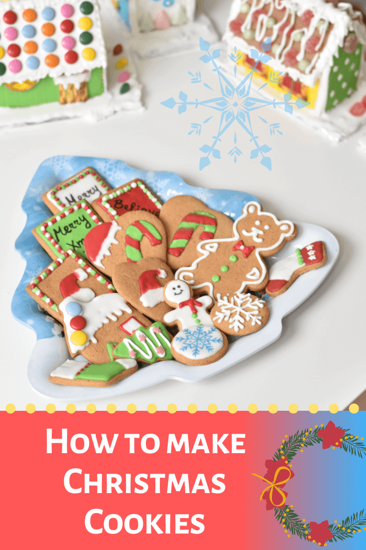 How to make Christmas Gingerbread Cookies