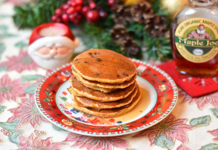 Pumpkin Pancakes | Gluten-free Winter Breakfast